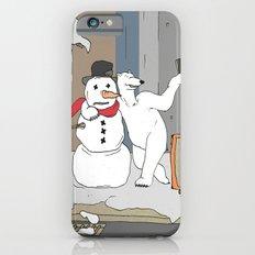 Selfie - Polar Bear and Snowman Slim Case iPhone 6s