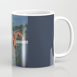 Looking On Coffee Mug