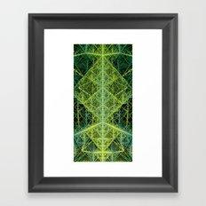 Dissected Octangula Framed Art Print