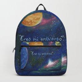 Eres mi universo Backpack