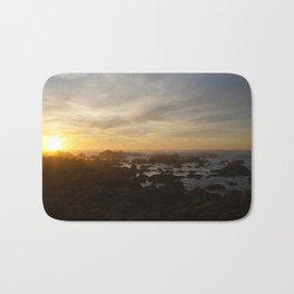SUNSET - MONTEREY CALIFORNIA Bath Mat