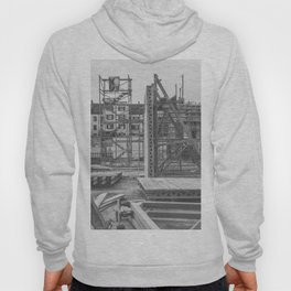 Construction site in the city Hoody