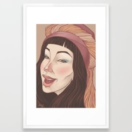 Smile3 Framed Art Print