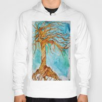 tree of life Hoodies featuring Tree of Life by Aries Art