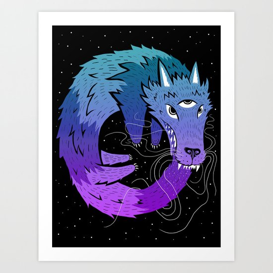 Oroboros Art Print