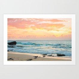 Honolulu Snrse Art Print