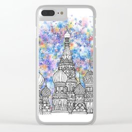 Splash | Moscow Clear iPhone Case