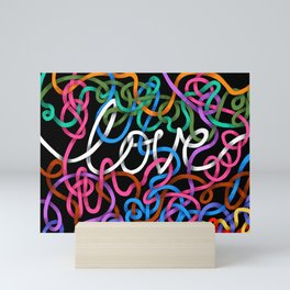 Love is Complicated Mini Art Print