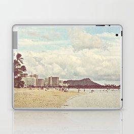 Retro Hawaii Diamond Head Laptop & iPad Skin