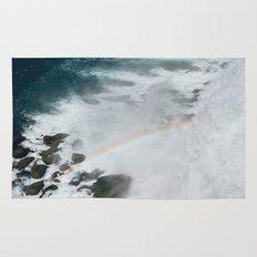 Rainbow of Niagara Falls Rug