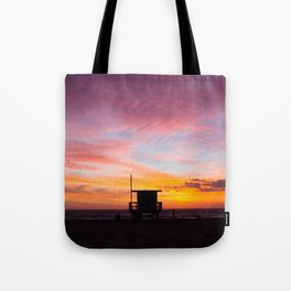 Sherbet Sunets Tote Bag