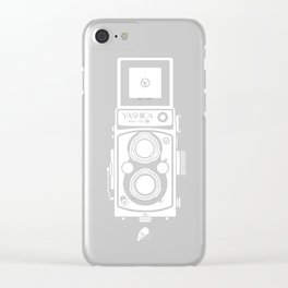 Yashica MAT 124G Camera Clear iPhone Case