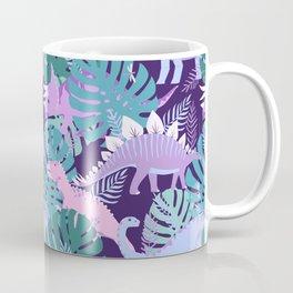 Jungle Dinosaur - Purple Coffee Mug
