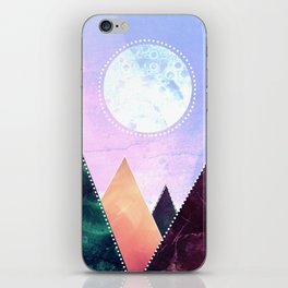 Sunrise of the moon iPhone Skin