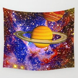 Stars and Planets Wall Tapestry