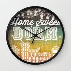 Home Sweet Dorm Wall Clock