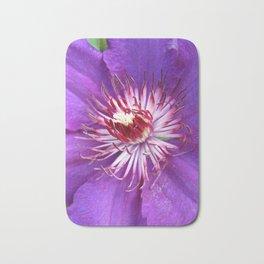 Purple Splash (Clematis) Bath Mat