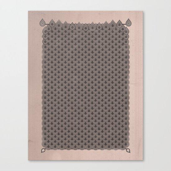 眞銀용갑옷 - Mithril DRAGON SCALES ARMOR CAPE Canvas Print
