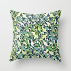 all over it (variant) Throw Pillow
