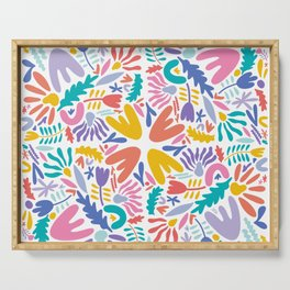 Bright Florals Serving Tray