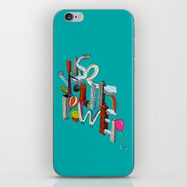 Use Your Power iPhone Skin