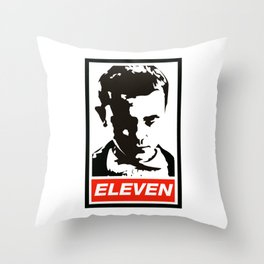 Eleven - Obey Throw Pillow
