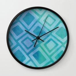 Motivo Cuadrado Wall Clock