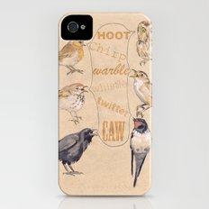 Bird Sounds Slim Case iPhone (4, 4s)