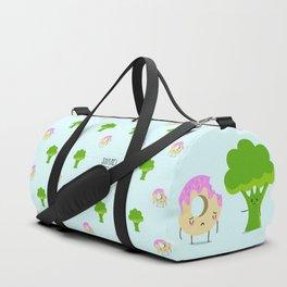 Guilty pleasure shame pattern Duffle Bag