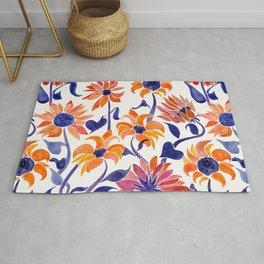 Sunflowers – Sunset Palette Rug