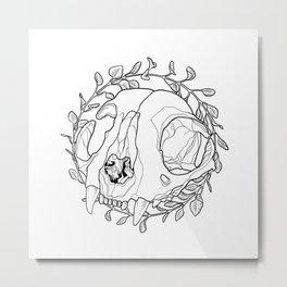 oregano wreath Metal Print