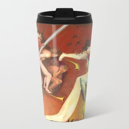 Golf Course In Hell Metal Travel Mug