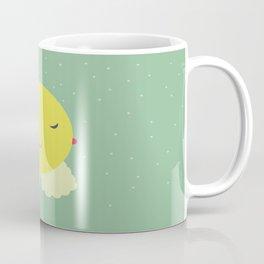 miss sunshine with a collar and snowfall Coffee Mug