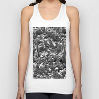 heavy metal Tank Tops featuring Heavy Metal Crush by BruceStanfieldArtist.DarkSide