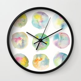 Imperfect Circles Wall Clock