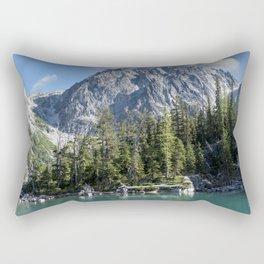Asgard Pass Dragontail Peak Colchuck Lake Rectangular Pillow