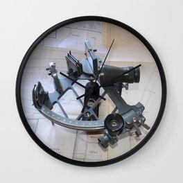 Sextant Wall Clock