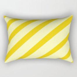 Sunny Stripes Rectangular Pillow