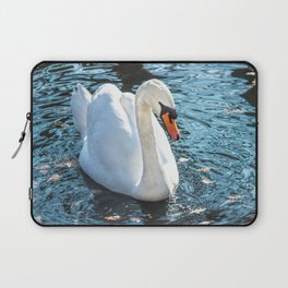 The white swan Laptop Sleeve