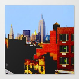 """NYC from L.E.S."" Canvas Print"