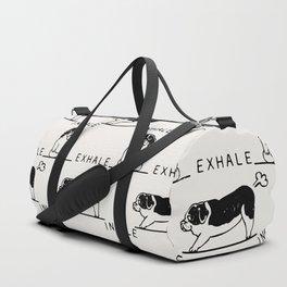 Inhale Exhale  St. Bernard Duffle Bag