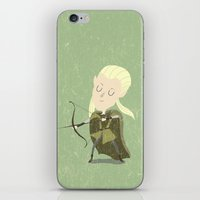 legolas iPhone & iPod Skins featuring Legolas by Rod Perich