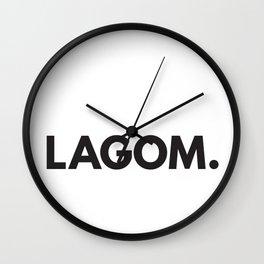 Lagom. Wall Clock