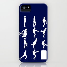 The TARDIS of Silly Walks iPhone Case