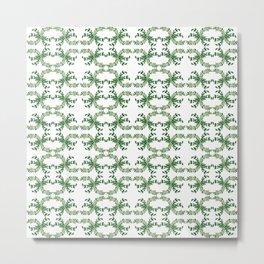 Green leaves2 Metal Print