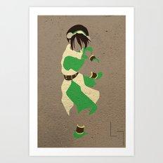 Toph Art Print