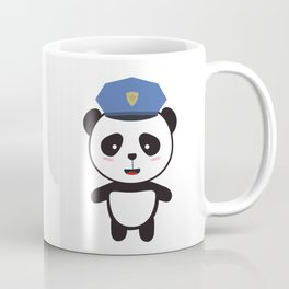 Panda Police Officer Coffee Mug