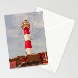 El faro del Toston, Fuerteventura (Fuerteventura, Toston Lighthouse) Stationery Cards