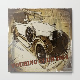 touring club 1954 Metal Print