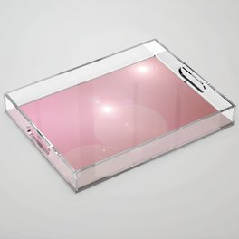 Pinkish Pastel Acrylic Tray